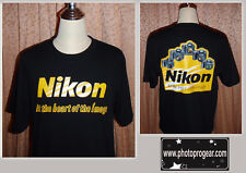 LIMITED SALE  NIKON HEART OF THE IMAGE T-SHIRT  LARGE SIZE