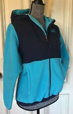 The North Face Girls  L/G (14-16) Color Turquoise & Navy Blue (ladies Small )