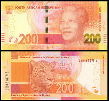 South Africa 200 Rands ND(2014) UNC**New (with Omron rings)