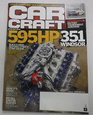 Car Craft Magazine Strip Engine Ready For Boost June 2015 081715R