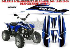 AMR Racing DECORO GRAPHIC KIT ATV POLARIS interferenzaNverso/Trailblazer INFINITY B