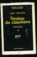 livre: Day Keene: graine de cimetière. série noire. 1954