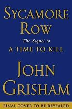 Sycamore Row by John Grisham (2013, Hardcover)