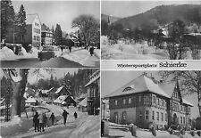 BG2130 wintesportplatz schierke ski car voiture  CPSM 14x9.5cm germany