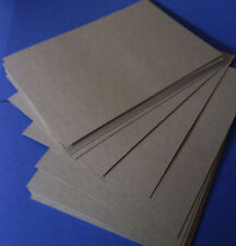 Chipboard / Boxboard A6  148x105mm 1.2mm Thick  Pack of 20 Sheets