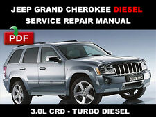 JEEP GRAND CHEROKEE 2005 - 2008 3.0L CRD BLUETEC DIESEL SERVICE REPAIR MANUAL