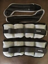 Reebok Toning Adjustable Ankle Weights And Wrist Weights
