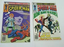 peter parker, the spectacular spiderman # 48, 50