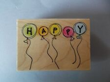 HERO ARTS RUBBER STAMPS HAPPY BALLOONS NEW STAMP