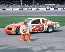 CALE YARBOROUGH 1986 #28 HARDEE'S DAYTONA 500 8X10 GLOSSY PHOTO #44TR7
