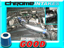 """BLUE 94 95 96 97 CHEVY S10/XTREME/HOMBRE/SONOMA 2.2 2.2L FULL COLD AIR INTAKE 3"""""""