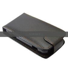 POCHETTE simili CUIR ETUI FLIP HOUSSE A CLAPET NOIR SAMSUNG GT-S7250 WAVE M 725