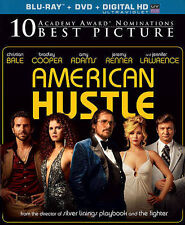 American Hustle (Blu-ray/DVD, 2014, 2-Disc Set, Includes Digital Copy) - NEW!!