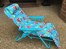 Little Mermaid Ariel Lounge Patio Chair - Disney, Folding, Adjustable very HTF