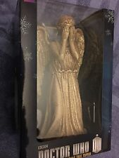 Doctor who  gold colour   weeping angel  Christmas  Tree Top Topper