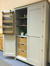 NEW Large Deep Kitchen Larder Cupboard. BESPOKE. CAN BE MADE ANY SIZE OR COLOUR!