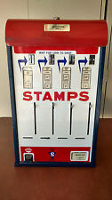 VINTAGE US POSTAGE STAMPS VENDING MACHINE 25 CENT QUARTER DISPENSER POST OFFICE