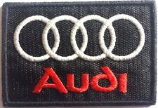 Patches écusson thermocollant brodé aufnäher toppa embroided. AUDI RACING.