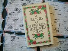 A Treasury of The World's Best Loved Poems (Avenel Books, 1980 HCDJ)
