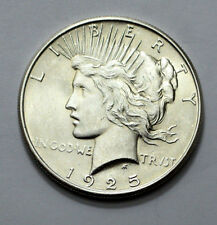 1925-P MS, UNC  Peace Dollar Silver Coin , SUPERB , RARE , NO RESERVE !!