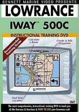 Lowrance iWay 500 instructional DVD