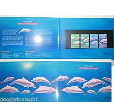 1999 Hong Kong Chinese White Dolphin Stamp Presentation Pack`,