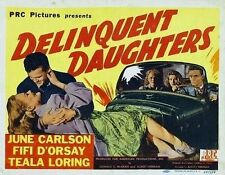 Delinquent Daughters DVD film transfer High School Movie 1944