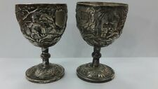 RRR Rare Chinese silver cups 19th century