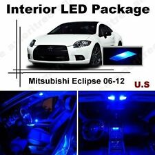 Blue LED Lights Interior Package Kit for Mitsubishi Eclipse 06-12 ( 8 Pieces )