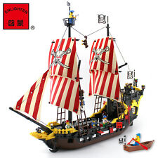 ENLIGHTEN Pirates of the Caribbean Corsair Black Pearl Boat Minifigures Toys QV
