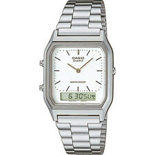 Casio  Mens Collection Combi Bracelet Watch AQ-230A-7DMQ