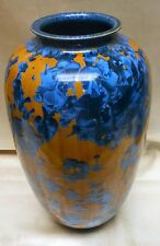 "Rare Ray West Sequoia Forest California  Vase Signed by Artist 1999 13"" Tall"