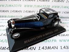Voiture 1/43 IXO altaya Voitures d'autrefois : BUGATTI type 41 royale 1929