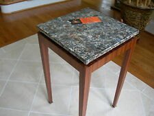 Theodore Alexander Vanucci Rosewood Mother of Pearl Occasional End Table
