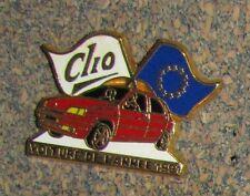 C1 PIN ARTHUS BERTRAND PARIS CAR Renault clio - voiture de l'année 1991