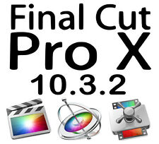 Apple Final Cut Pro X 10.3.2 Motion & Compressore - 100% Legale VERSIONE COMPLETA!