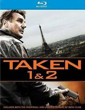 Taken and Taken 2 (Blu-ray Disc, 2014, 2-Disc Set) NEW!
