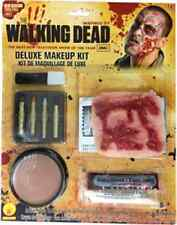 Walking Dead Deluxe Makeup Kit Zombie Fancy Dress Halloween Costume Accessory
