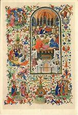 Alte Kunstkarte - Das letzte Abendmahl