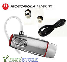 New Motorola Elite Flip Bluetooth Headset HZ720 HD Audio Plus MOTOSPEAK US