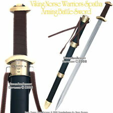 Viking Warrior Spatha Arming Sword Medieval Celtic Sword Renaissance Costume