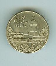 DDR GDR medalla castillo Falkenstein