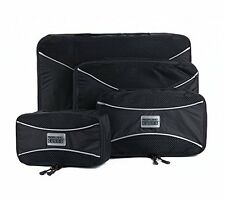 PRO Packing Cubes Travel Packing Organizers & Compression {Graphite - 4 Piece}