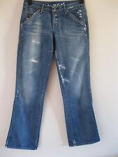 Women's G-Star Raw Medin Pant Loose Medium Faded Wash Denim Jeans. W 28 L 32