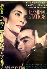 Japan 1sh Montgomery Clift in TERMINAL STATION (R-1962) J. Jones