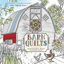 Majestic Expressions: Barn Quilts Coloring Book by Marian Parsons (2017,...