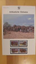 WWF Kapitel 003 Afrikanische Elefanten 1983 Uganda                    (130810)