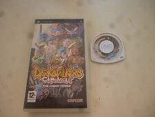 PSP play station Playstation portable DarkStalkers Chronicle the Chaos Tower
