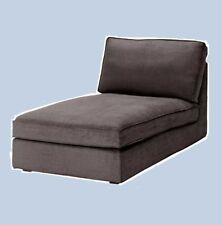 IKEA Kivik Chaise Lounge Cover Tullinge Gray-Brown(Mates Availble)Slipcover NEW