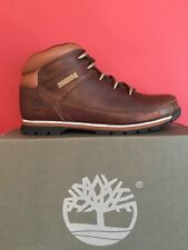TIMBERLANDS MENS EURO SPRINT Hiker BOOTS BROWN size Uk 10.5 BRAND NEW WITH BOX
